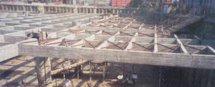 Reinforced Concrete Bracing During Deep Excavation